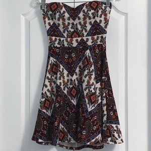 Ardene strapless dress size small